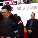A Soldier Showed Up at a Hockey Game to Surprise His Family …And Proposed To His Girlfriend