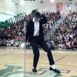 A Kid Danced Exactly Like Michael Jackson At His High School Talent Show