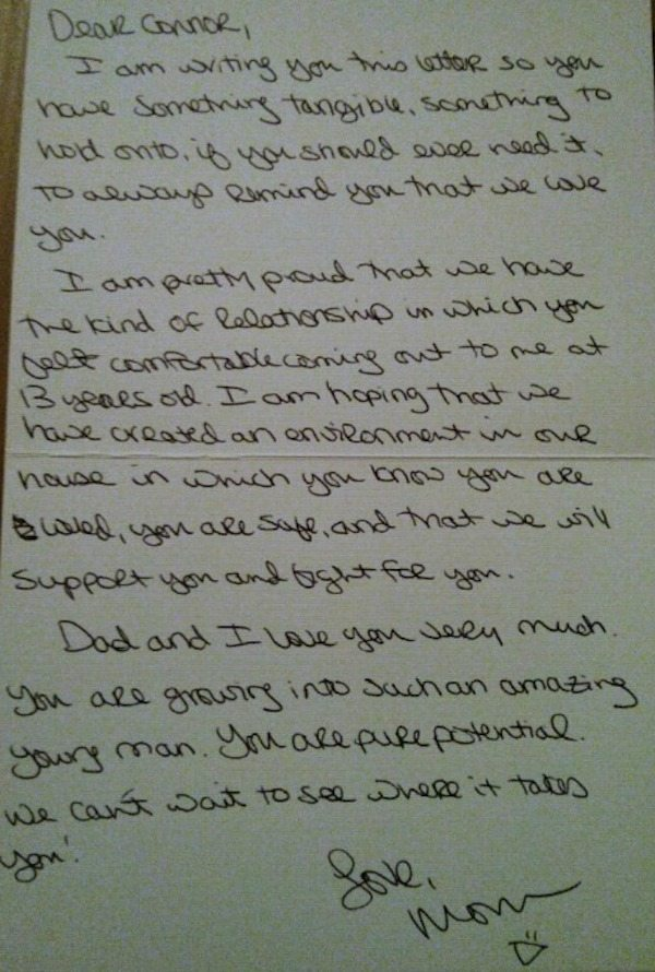 Mom Writes Tear-Jerking Letter To Her 13-Year-Old Son Who