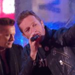 "Chris Martin And Bruce Springsteen Filled In For Bono At Last Night's ""U2 Minus 1″ Concert"