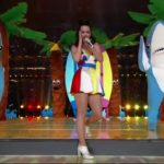 Katy Perry's Halftime Show Included A Giant Lion, Missy Elliott, Lenny Kravitz And Dancing Sharks