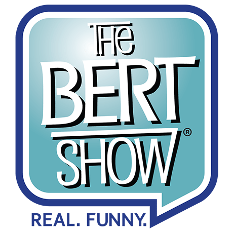 Image result for the bert show logo